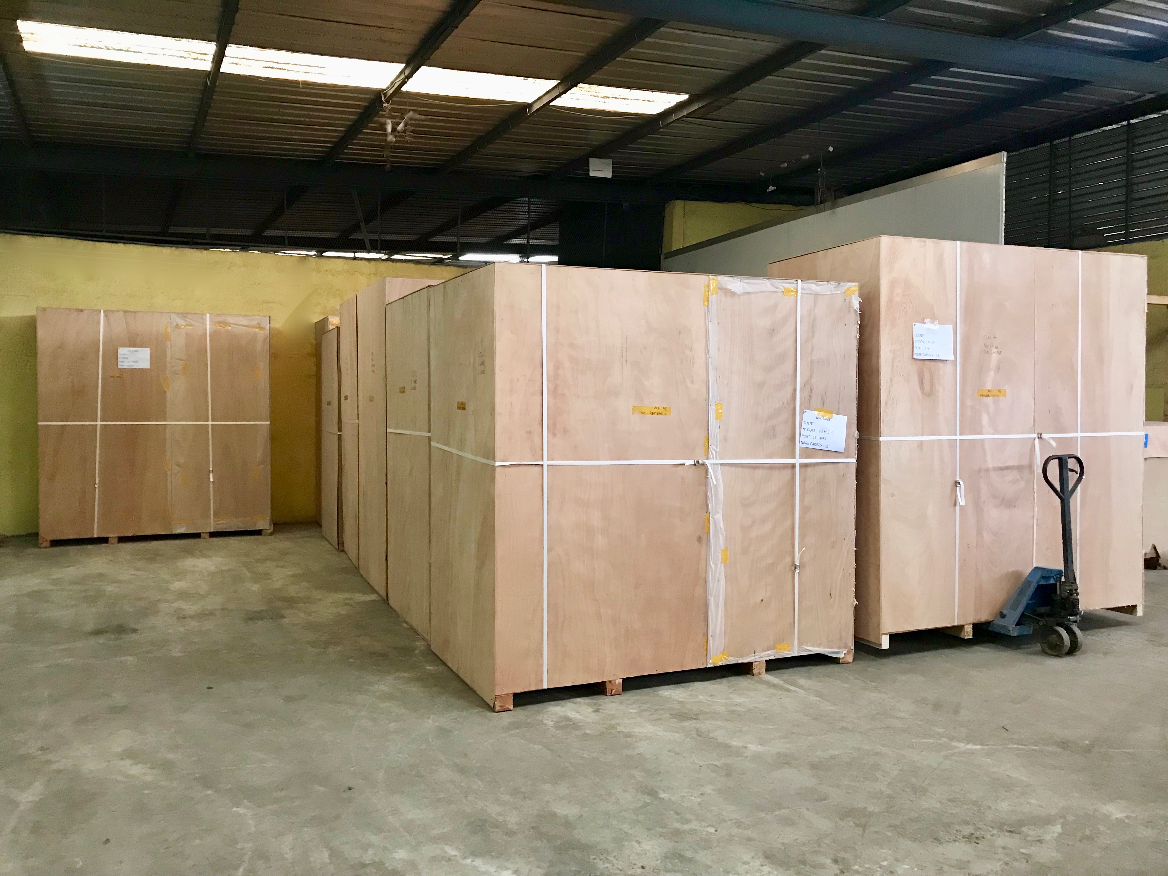CIDT Gabon Déménagement International Logistique