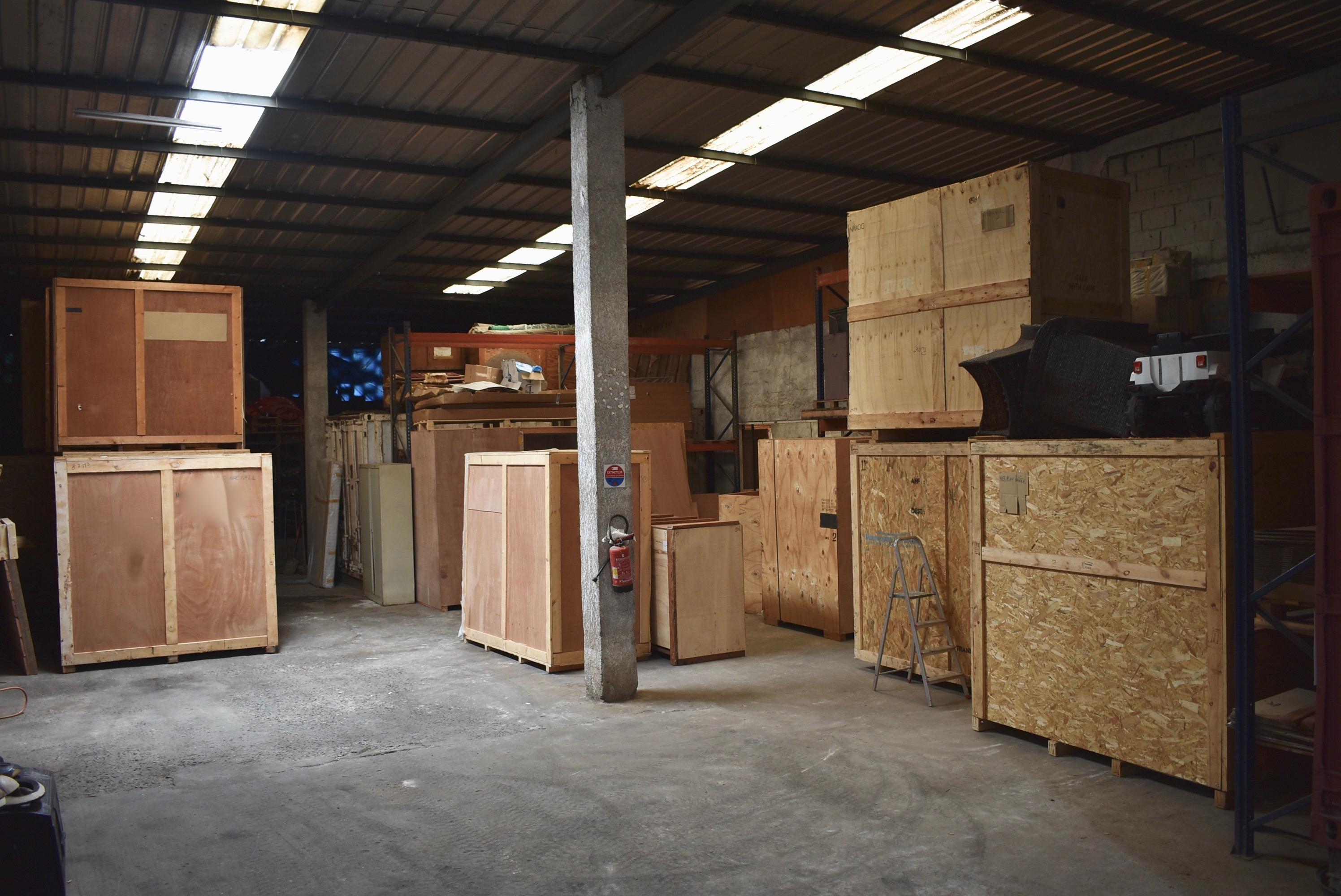Entrepots totalement sécurisé chez CIDT Gabon