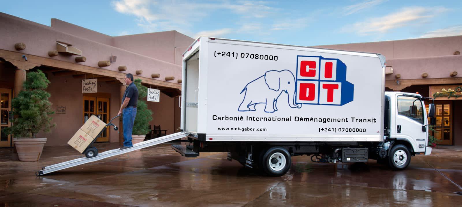 CIDT camion fourgon isuzu
